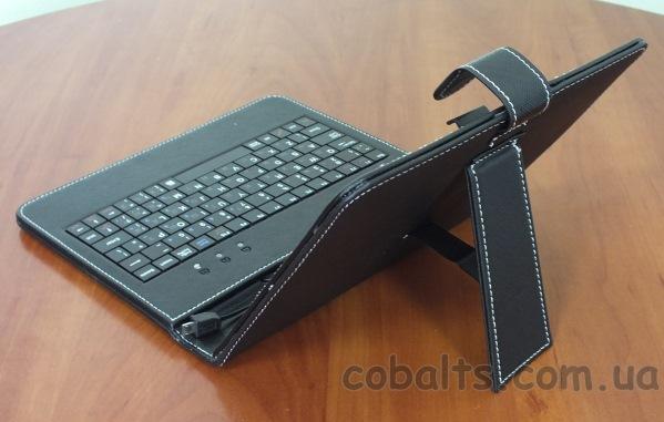 Чехол-клавиатура откидная ножка,