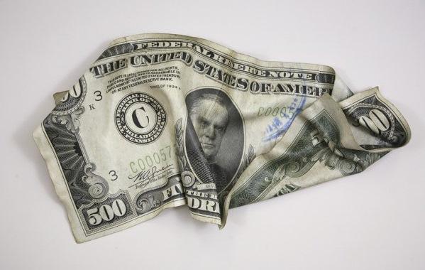 500 долларов США с изображением 25-го президента Уильяма Мак-Кинли (William McKinley)