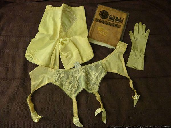 Женское нижнее белье сороковых годов