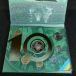 Коллекционный набор обиходных монет Украины за 2008 год