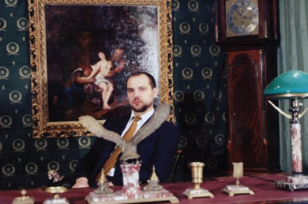 Федор Зернецкий, известный меценат, владелец антикварного салона