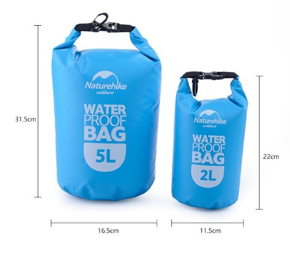 Размеры водонепроницаемой сумки
