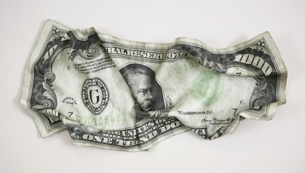 1000 долларов США с изображением 22-го и 24-го президента Гровера Кливленда (Grover Cleveland)