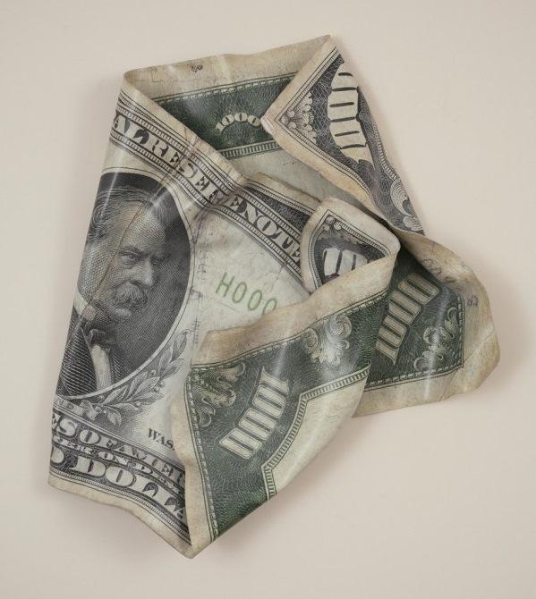 10000 долларов США с изображением государственного мужа Сэлмона Чейза (Salmon Chase)
