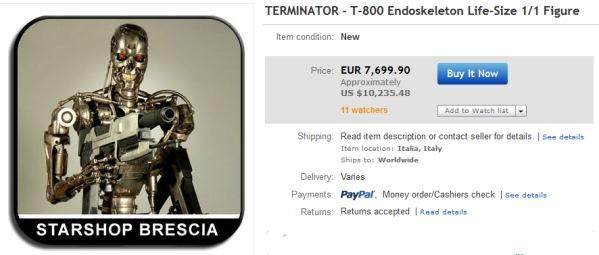 Цена Terminator 2 - T-800