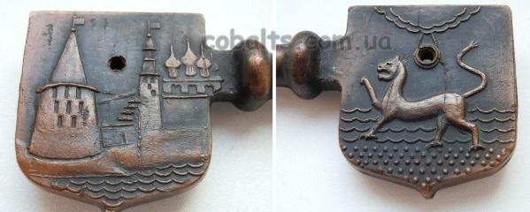 Сувенирный ключ город Псков