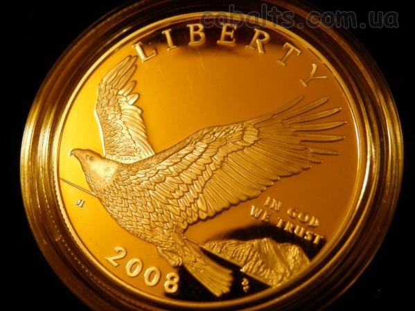 Монетный двор Филадельфия 2008 сша Белоголовый Орлан